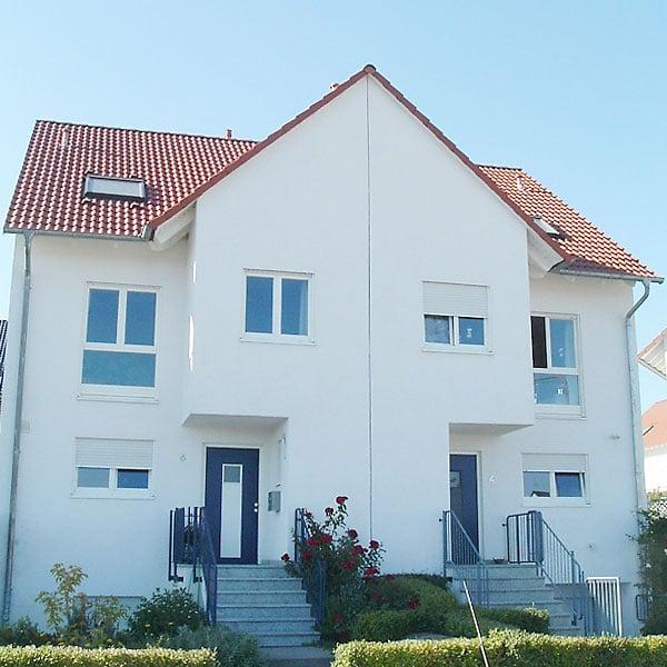 Frankfurt Heddernheim – 14 Doppelhaushälften